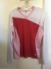 New Women's Specialized Stella Jersey Top Long Sleeve Large Pink