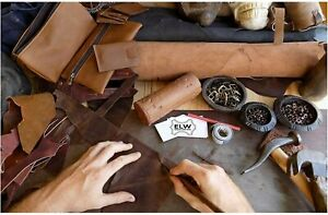 """Import Tooling Craft Leather Thick 11/12 oz 12""""x24"""" Vegetable Tanned Full Grain"""