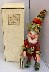 Mark Roberts Toy Maker Elf Fairy 51-02092 W/ Certificate & Box & Signed
