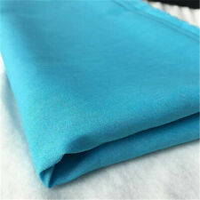 Turquoise 100/% Craft Cotton Solid Fabric Plain Blue Material
