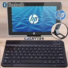 "For 10"" HP ElitePad/Slate Tablet Slim Wireless Bluetooth Keyboard + Stand Holder"