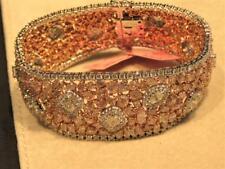NWT $292,634 18KT GORGEOUS GIA CERT RARE FANCY 42CT PINK DIAMOND BANGLE BRACELET