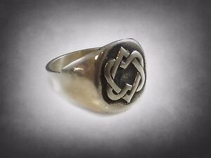 Rare Limited Leonard Cohen SOLID STERLING SILVER RING 925