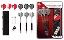 XQMax Softdart Starter Set mit 18 Darts, Shafts, Flights, Flightschoner & Case