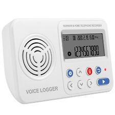 8GB-128GB Grabadora de voz telefónico automático único directo Teléfono Fijo registrador de datos