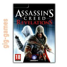 Assassin's Creed Revelations PC Steam Digital Download Key Link DE/EU/USA Code