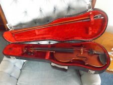 otto hermann 3/4 size german violin with case and bow