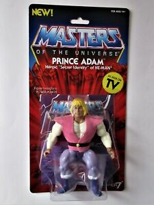"figurine "" PRINCE ADAM""  MOTU / Masters of the Univers SUPER7"