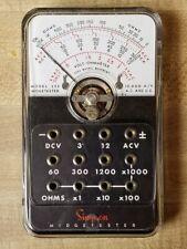 Simpson Model 355 Midgetester In Cowhide Case