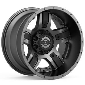 "Gear 740GB Manifold 17x9 5x5""/5x5.5"" -12mm Gunmetal/Black Wheel Rim 17"" Inch"