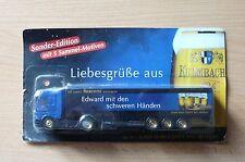 Model Truck Beer Truck Mercedes Benz Actros Kulmbacher 2HS 16
