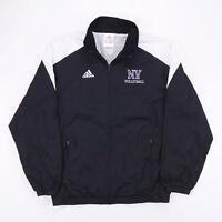 Vintage NIKE NV VOLLEYBALL Black & White Track Jacket Size Men's XS
