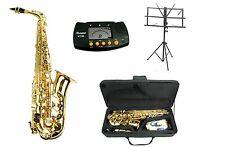 NEW Merano E Flat Gold Alto Saxophone,Case,Tuner,Stand Student to Intermediate