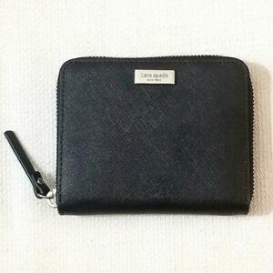 NWT Kate Spade New York Laurel Way Darci Wallet WLRU2909 Black