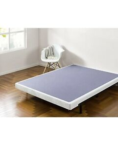 "Zinus Walter 4"" Smart Box Spring Mattress Foundation TWIN"