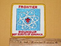 VINTAGE BSA BOY SCOUTS OF AMERICA PATCH FRONTIER ROUNDUP