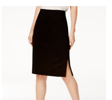 6a22bac5a9ca NEW Eileen Fisher Tencel Blend Pencil Skirt in Black - Size XS #SK12