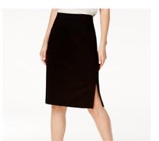 NEW Eileen Fisher Tencel Blend Pencil Skirt in Black - Size XL