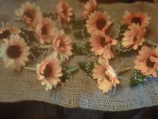 Wedding Sunflower Buttonhole 14 Corsages With Secure Fastening