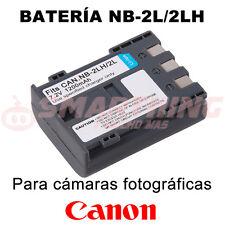 BATERÍA NB-2L, NB-2LH PARA CANON PowerShot S60; CAPACIDAD 1200 mAh