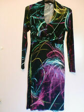 Von Lasershow oder Feuerwerk inspiriertes Kleid von Alba Moda in 38, ungetragen