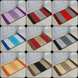 New Non Slip Indoor Door Mat Small Large Washable Rugs Bedroom Kitchen Floor Mat