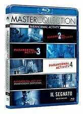 Paranormal Activity Collection: 2+3+4+Die Gezeichneten+Ghost Dimension -Blu-Ray-