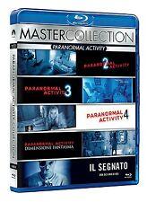 Paranormal Activity Collection: 2+3+4+5+6  Gezeichneten+Ghost Dimension  Blu-Ray