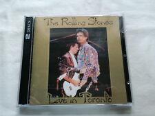 ROLLING STONES LIVE IN TORONTO ORIGINAL TSP-CD-150-2 2CD 1989 CANADA