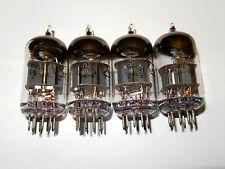 6N1P / ECC88 / 6DJ8  Russian Tubes Voskhod  NOS.Same Date Codes 1981!!Lot of 4.