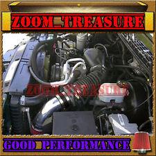 BLACK RED 1996-2005 CHEVY S10 ZR2/ZR5/BLAZER/SONOMA/JIMMY/HOMBRE V6 AIR INTAKE