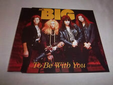 MR. BIG-TO BE WITH YOU 3 TRACKS MINT GERMAN CD