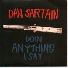 (AR632) Dan Sartain, Doin Anything I Say - DJ CD