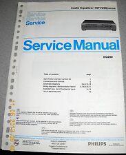 Philips 70 FV290 /00R /05R Audio Equalizer Service Manual