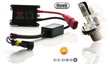 Xenon HID Motorcycle Headlight Conversion Kit- H4 6000k- 2 Years Warranty