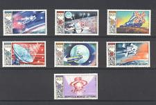 Mongolia 1985 Space/Luna/Salyut/Soyuz 7v set n11610