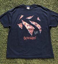 Vintage KORN T Shirt Untouchables Tour Band Men's 2XL