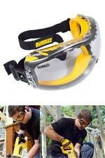 Dewalt Safety Goggles Over Glasses Concealer Clear Anti Fog Lens Eye Protective