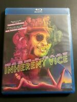 Inherent Vice  Joaquin Phoenix PT Anderson (Blu-Ray) WS Free Shipping