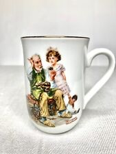 Norman Rockwell The Cobbler Vintage 1982 Mug