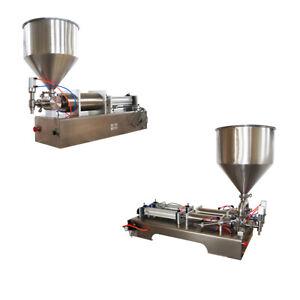Various Liquid Paste Filling Machine Bottle Seal Pack Piston Filler 10-5000ml
