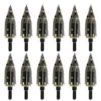 Lot Rocket BroadheadsTrophy Ridge Meat Seeker Arrowheads Arrow Tips 100Grain