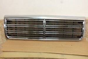 NOS GENUINE MAZDA LUCE RX9 S1 HARDTOP 1979-81 FRONT CHROME GRILLE # 8595-50-711A