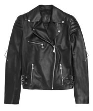 MCQ Alexander MCQueen Quilted Leather Biker Jacket Size 38