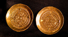 Large Saxon Round Brooches - Pair - Y-96