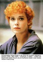 Kino # Merchandising # Autogrammkarte ohne Unterschrift # Sylvia Kristel # 1985