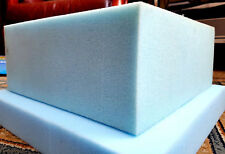 """HIGH FIRM BLUE UPHOLSTERY FOAM  AT 5"""" X 27"""" X 35"""""""