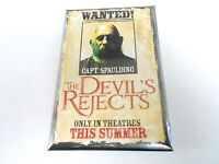 VINTAGE RECTANGULAR PINBACK BUTTON #82-195 - MOVIE - THE DEVIL'S REJECTS #2