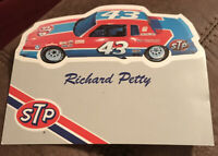 1982 Richard Petty Hero Card Post Card NASCAR Vintage