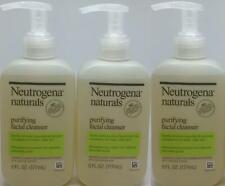 Neutrogena Naturals Purifying Facial Cleanser Lot of 3